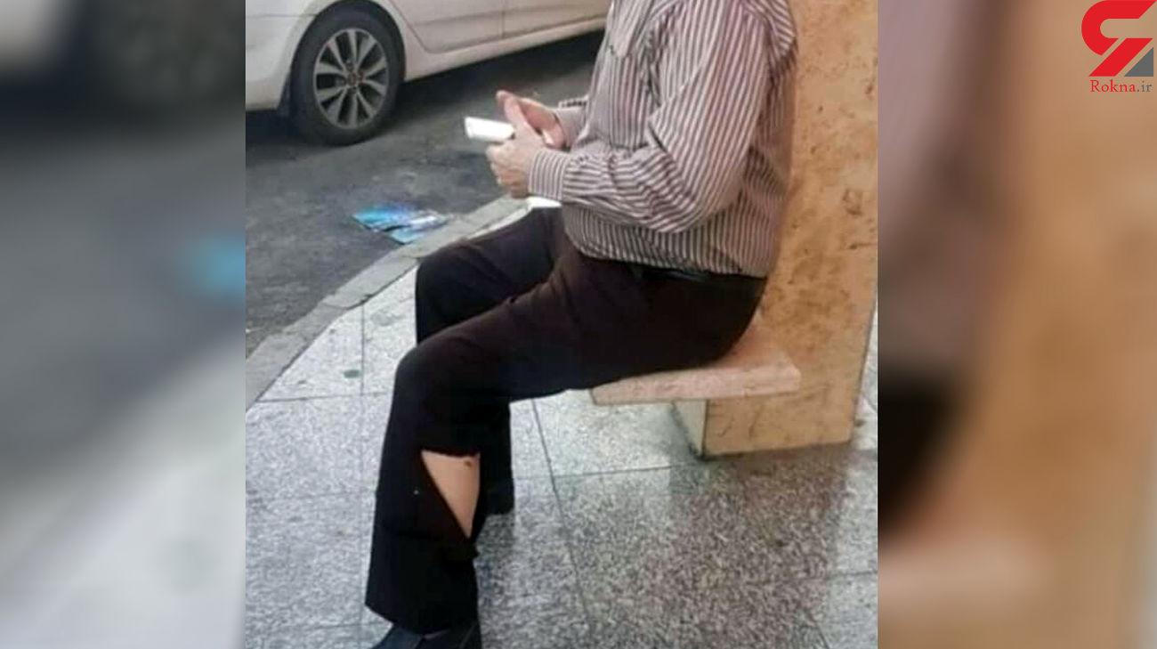 حمله سگ های ولگرد به پیرمرد اهوازی / در پارک زیتون رخ داد + عکس