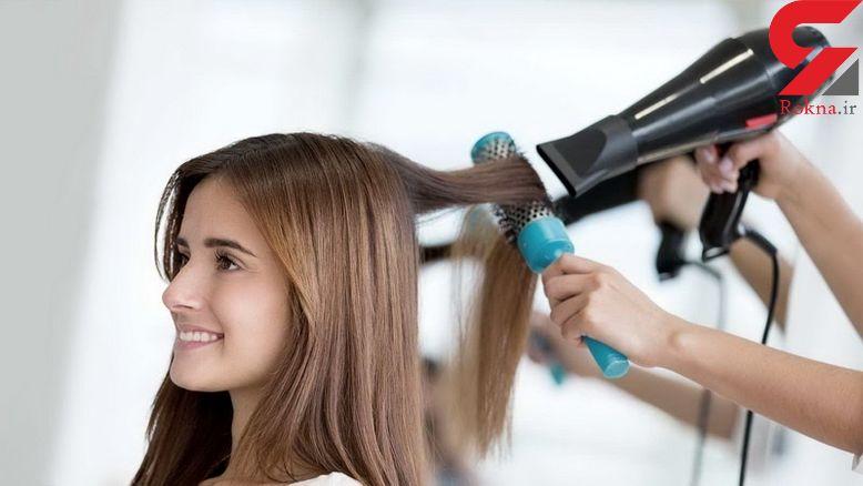 ترفندهایی برای لخت کردن مو با سشوار