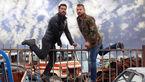عکس بهرام رادان و پژمان بازغی در فیلم