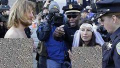 اقدام بی شرمانه عروس و داماد امریکایی در خیابان + عکس