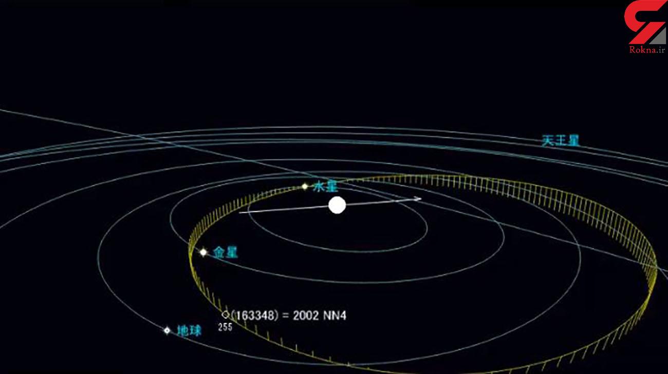 آیا پایان زمین نزدیک است ؟ / شهاب سنگی دیگر در راه زمین + عکس و جزییات