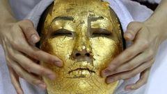 ماسک های طلای 24 عیار برای زیبایی صورت زنان!
