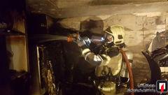 منزل مسکونی یک تهرانی در نبود ساکنان آن آتش گرفت + عکس