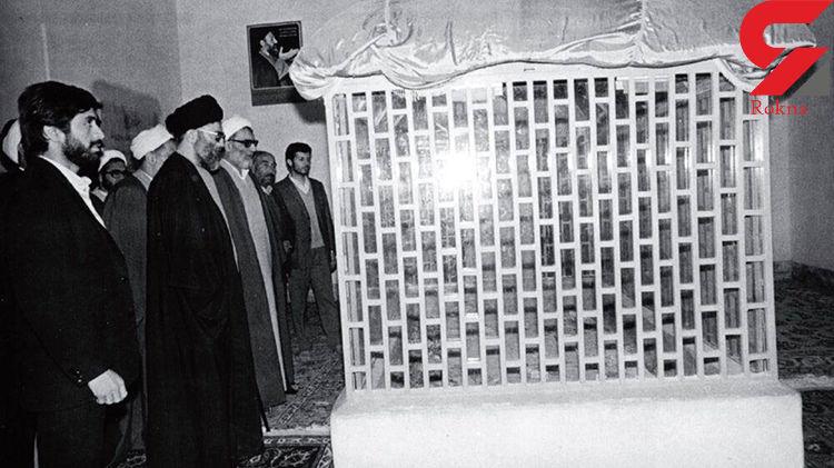 تصویری منتشر نشده از رهبر معظم انقلاب