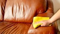 ترفندهای خانگی تمیز کردن مبلمان