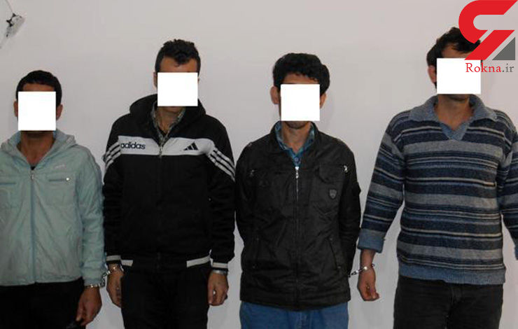 اعتراف حرفه ای 4 دزد بچه سال در قائمشهر + عکس