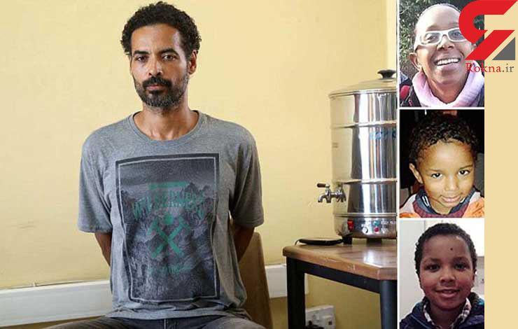 بازداشت قاتل هنرپیشه زن انگلیسی و 2 کودکش