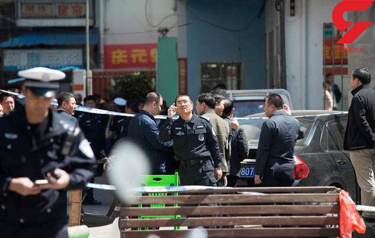 مرد چینی 10 کودک را با چاقو زد و خودکشی کرد