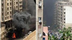 فوری /انفجاری مهیب دراسکندریه + عکس