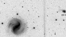 کشف یک کهکشان مارپیچ در فاصله 180 میلیون سال نوری زمین