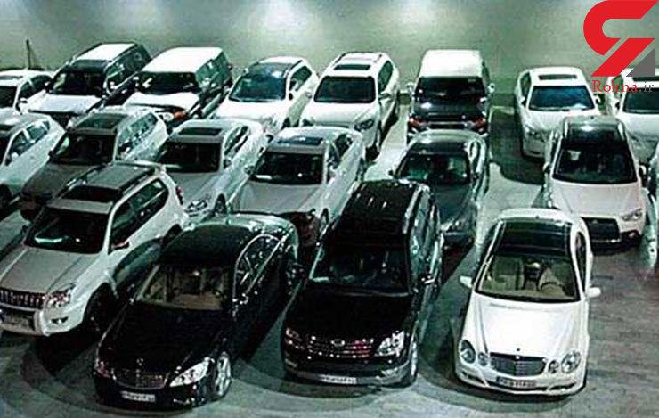 13 میلیارد تومان جریمه  برای قاچاق 13 خودروی لوکس  بنز، بی ام و، پورشه و رنجروور