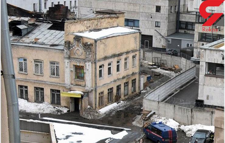 12 کشته در حریق کارخانه ریسندگی مسکو + فیلم