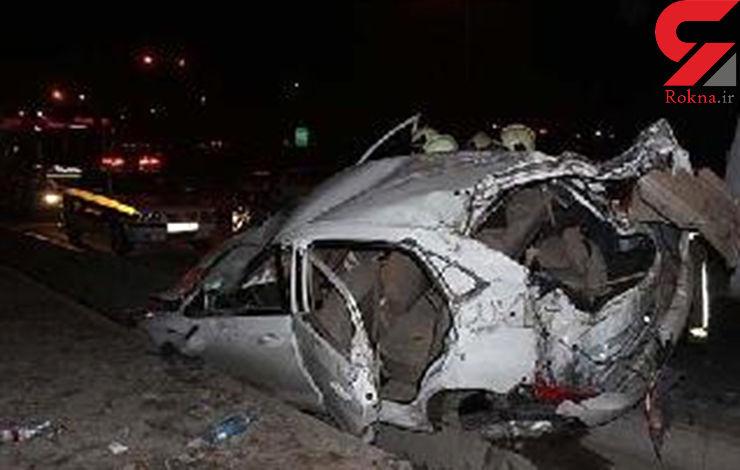مرگ دلخراش 3 تن درواژگونی سواری MVM  / خبر کوتاه