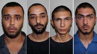 حمله وحشیانه 4 پسر خشن به زن جوان در روز روشن / این 4 جوان قمه به دست را می شناسید+عکس