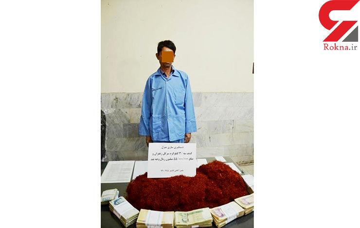 دزد 3 کیلو زعفران در دام پلیس