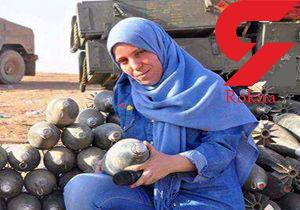 لحظه شلیک تک تیرانداز به خبرنگار زن در موصل+فیلم و عکس