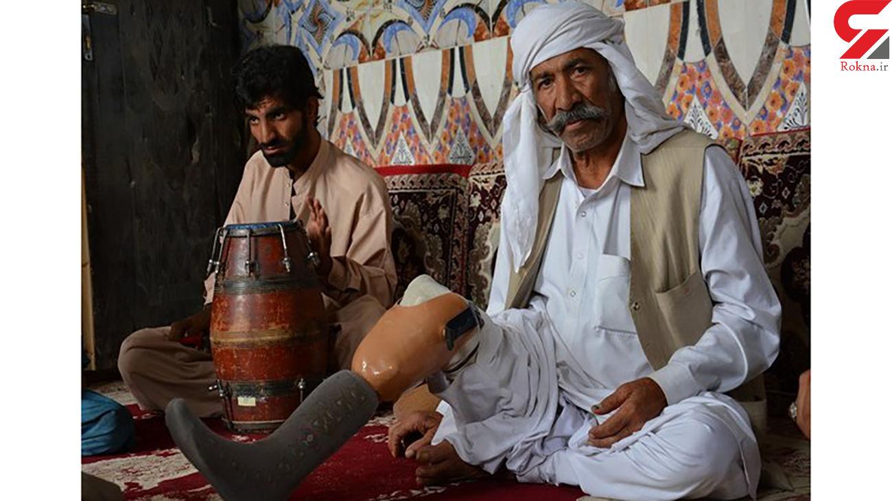 مرگ موسیقیدان مشهور بلوچستان + عکس و جزئیات