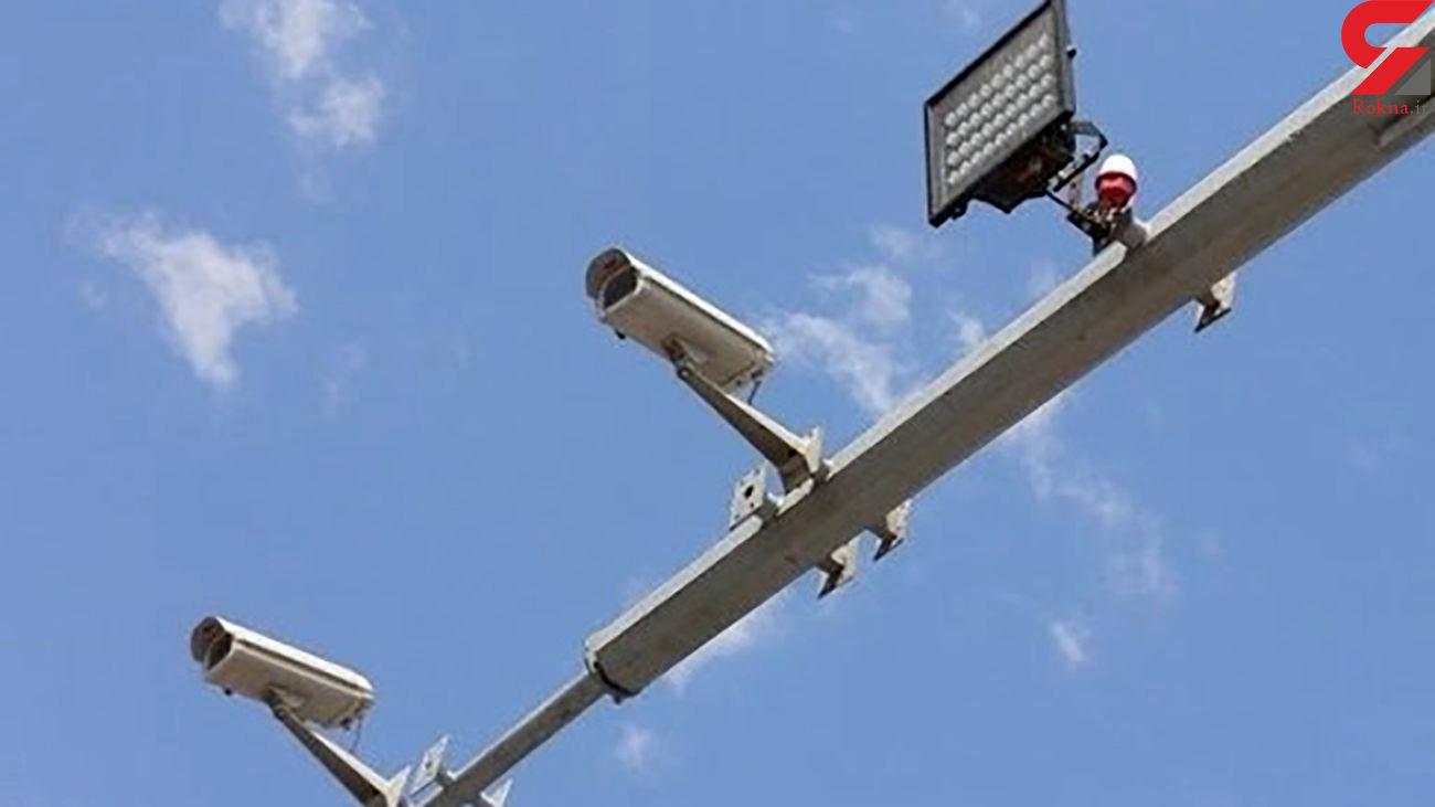 نصب 60 دوربین ثبت تخلف در جادههای فارس