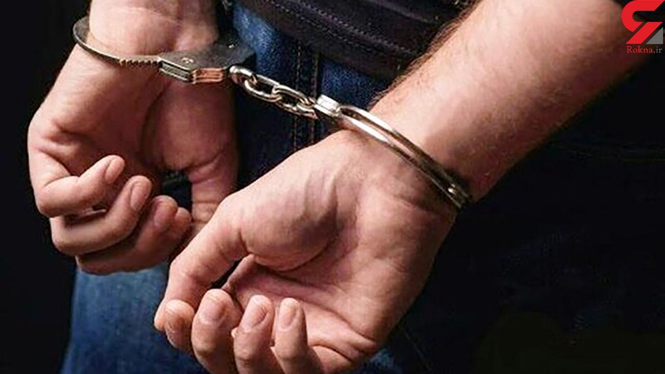 دستگیری سارق مغازه در محله هفت چنار