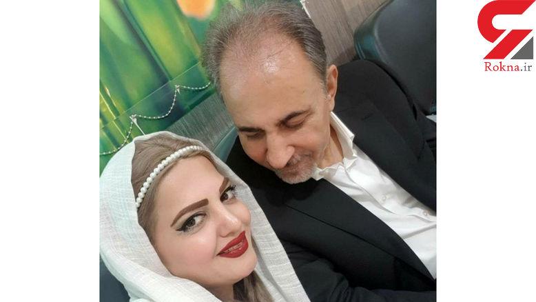 نجفی در دوربین آسانسور محل قتل همسر دومش دیده شد!  + عکس