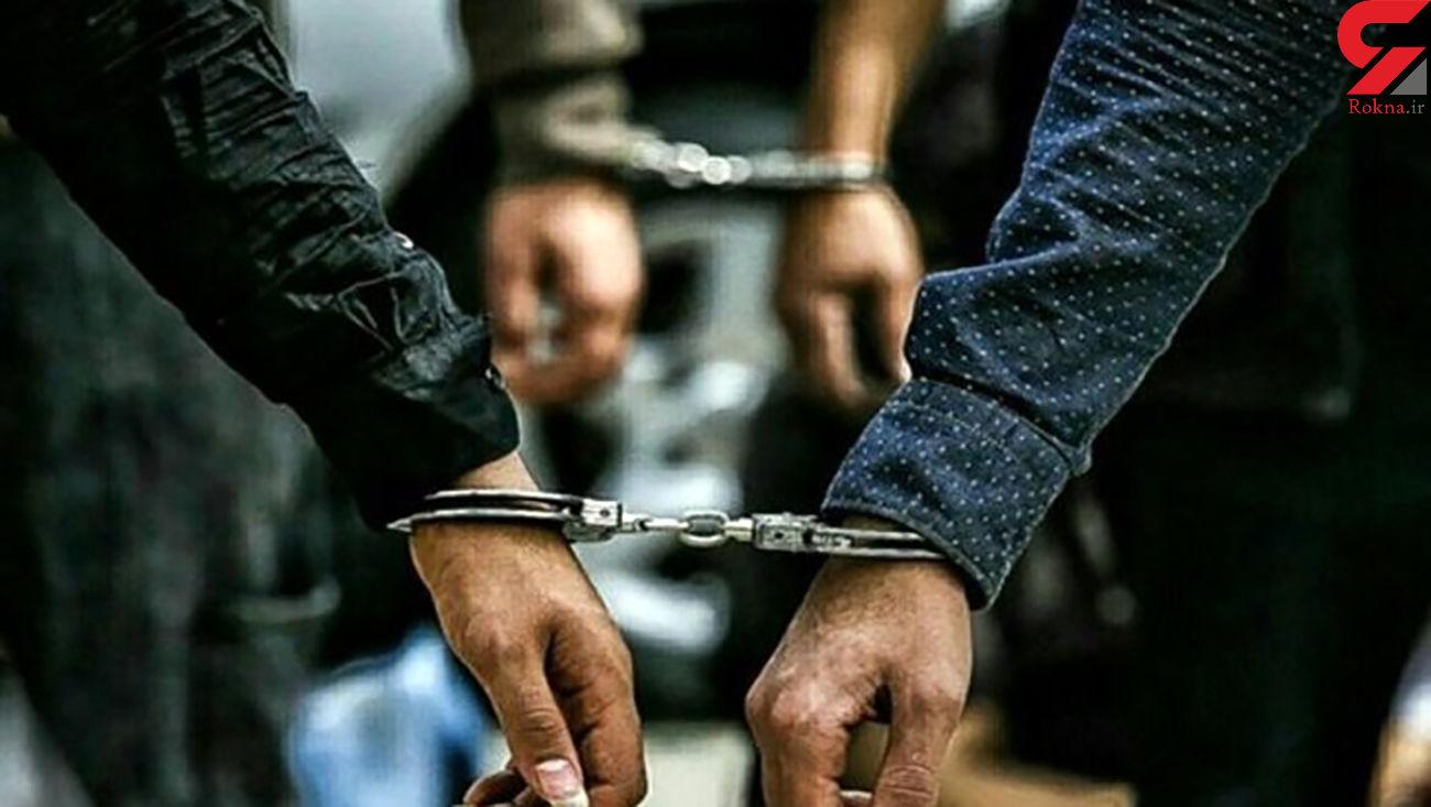 دستگیری 2 سارق لوازم خودروی کارمندان شرکت خودروسازی سایپا