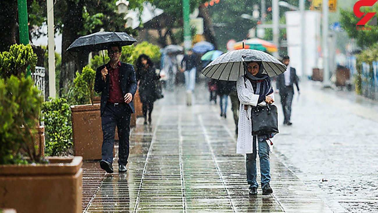 وضعیت آب و هوایی کشور در هفته جاری