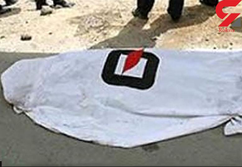 زنده به گور شدن یک مرد در پاسداران تهران  + عکس جسد