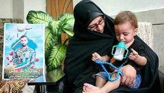 بهاره رهنما و همسر شهید حججی+عکس