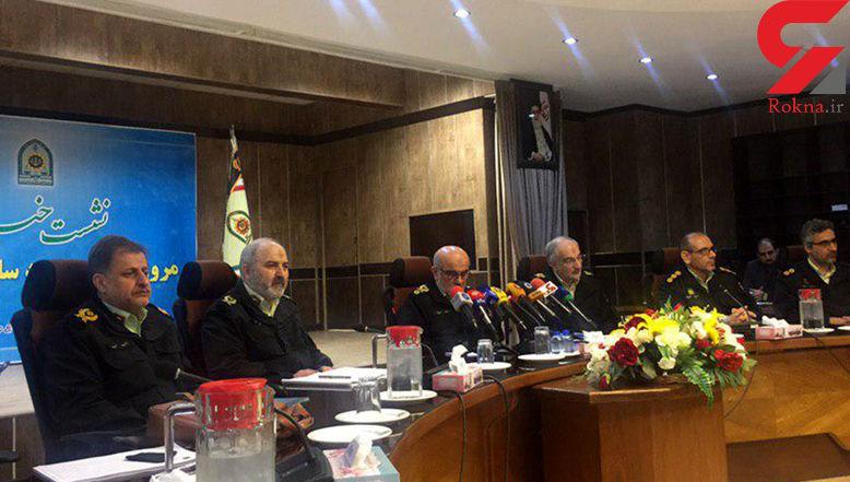 ثبت بیش از یک میلیون جرم در  کشور  / پلیس با آمادگیکامل در انتظار چهارشنبه سوری و تعطیلات نوروزی +عکس و فیلم