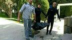 این جسد روی رودخانه جاده چالوس شناور بود + فیلم (16+)