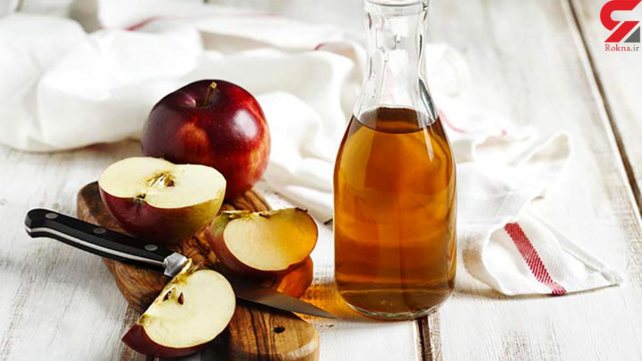7 اتفاق سلامتی با خوردن روزانه سرکه سیب