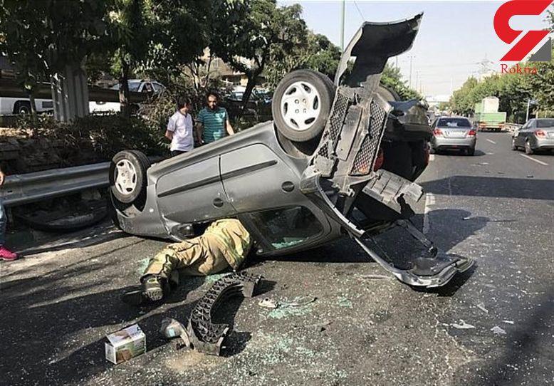 واژگونی ۵ خودرو در بویراحمد ۲۰ کشته و زخمی برجای گذاشت