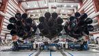 ماسک در توییتر خود عکس موشک فالکون را منتشرکرد/پرتاب به مریخ و ماه تا ماه آینده
