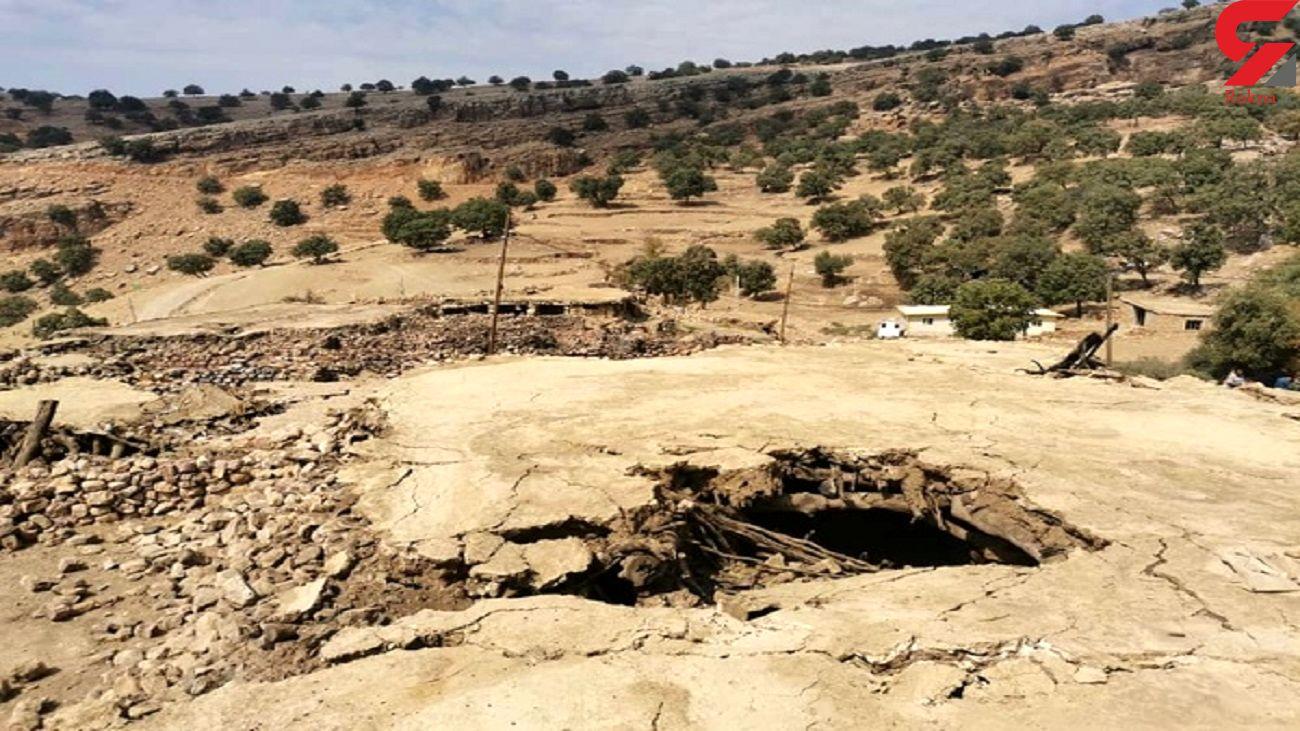 آسیب جدی 70 روستا از بخش چلو بر اثر زلزله اندیکا + فیلم
