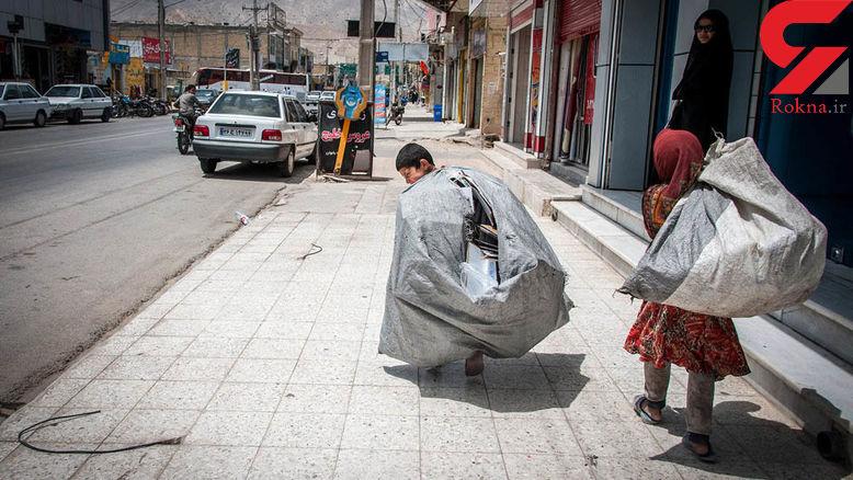تعداد کودکان کار و خیابانی کاهش پیدا می کند