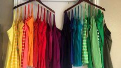 تاثیر  لباس های رنگی بر روحیه