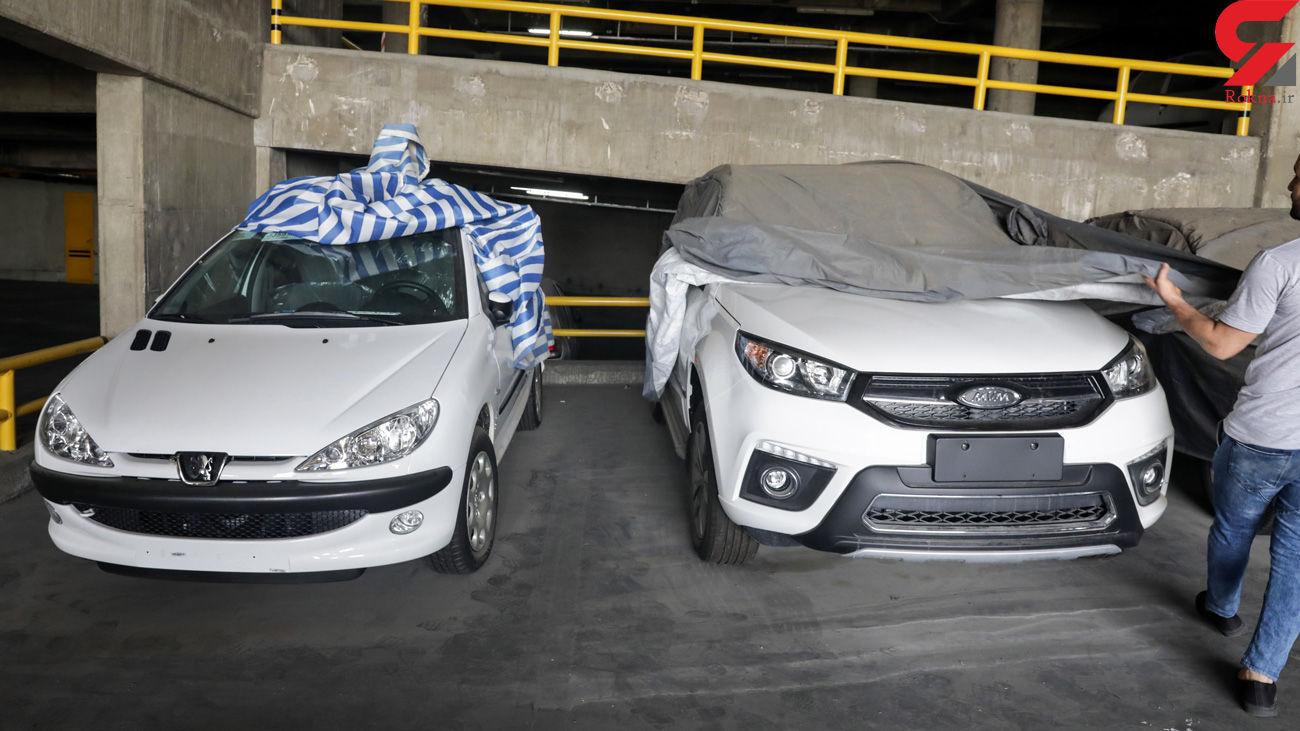 پاتک پلیس به پارکینگهای احتکار خودرو