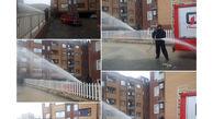 آبگرفتگی ۲۶ منزل مسکونی در سطح شهر ایلام