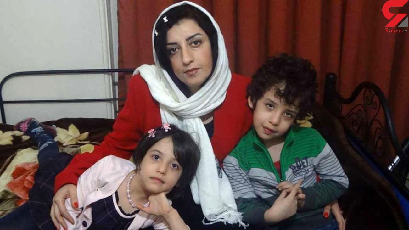 نرگس محمدی  تمایلی برای ملاقات و تماس ندارد!