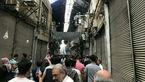 بازار تهران بسته شد + تصاویر