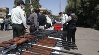 کشف و ضبط 19 سلاح شکاری در مازندران