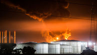 Firefighters Containing Blaze at Tehran Oil Refinery
