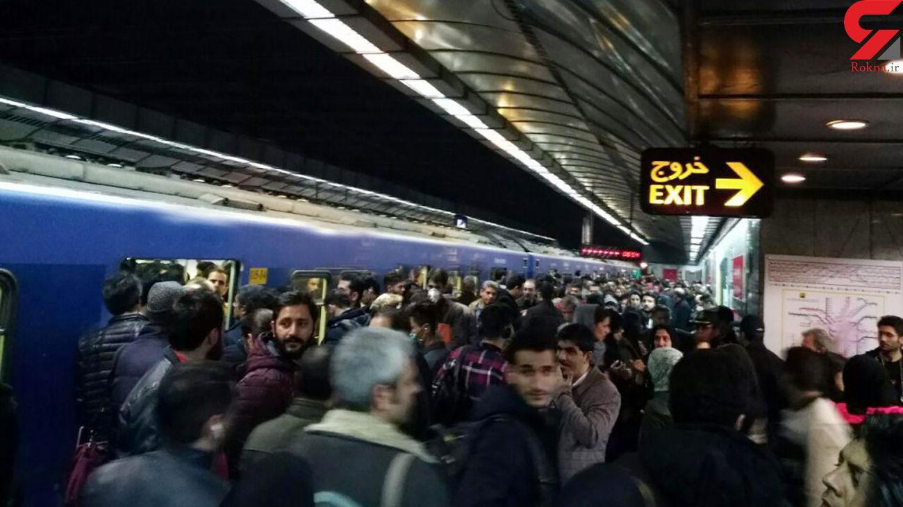 کمبود 1500 واگن در متروی تهران