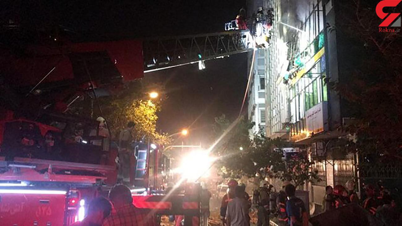 آخرین جزئیات از انفجار و آتش سوزی در خیابان نظری تهران / نشت گاز علت اولیه  + فیلم و عکس