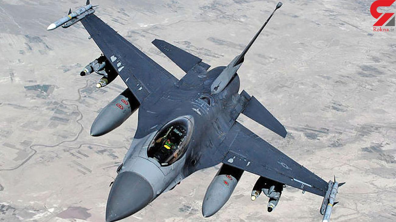 حمله موشکی به سایت نگهداری هواپیماهای F۱۶ آمریکایی