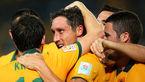 کاپیتان تیم ملی استرالیا مقابل تراکتورسازی