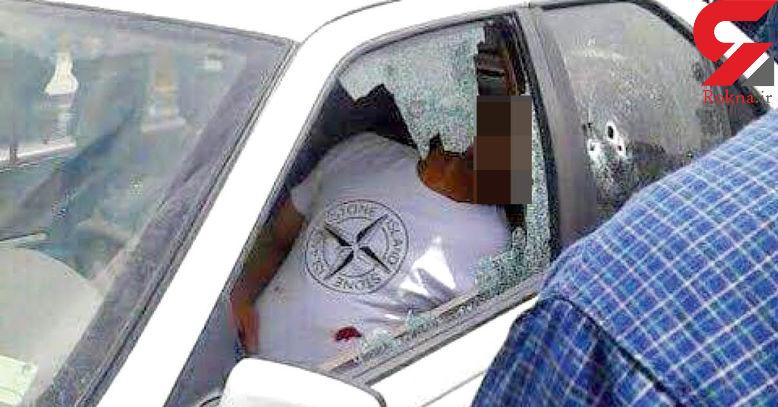 عکس صحنه قتل / شلیک به شیوه گانگسترهای هالیوودی در مشهد