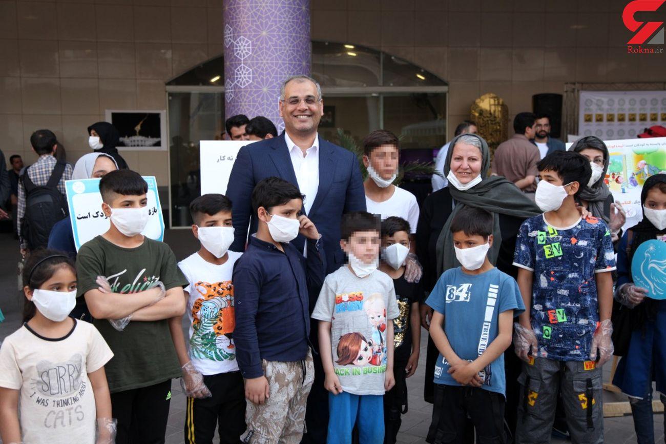 اجرای برنامه روزجهانی کودکانکار توسط پویش چهارراهکودک / کودکی تکرار شدنی نیست
