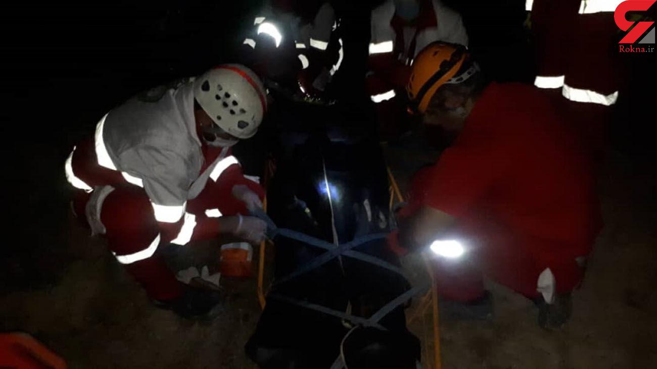 جسد مردی در کوه های دیلم پیدا شد + عکس