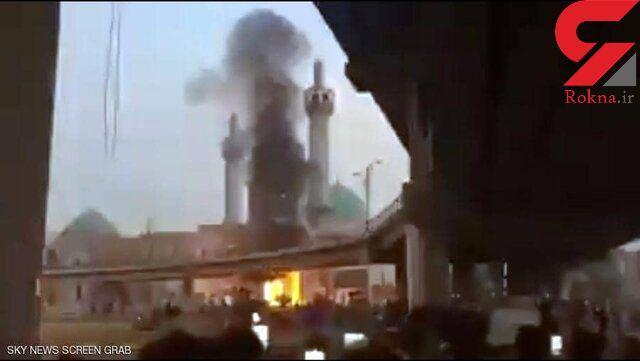 آتشزدن مرقدی در نجف/ اوضاع ذیقار همچنان ملتهب است+عکس